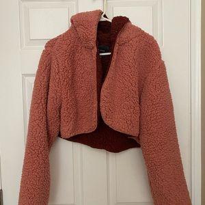 Jackets & Blazers - Teddy bear hoodie